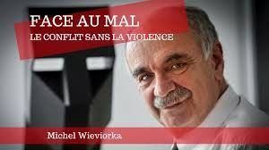 """Le sociologue Michel Wieviorka, pour la promotion de son livre """"Face au Mal, le conflit sans la violence"""""""