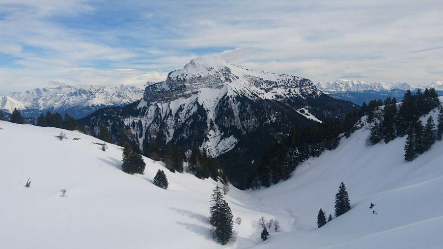 Chamechaude dans le massif de la Chartreuse en Isère