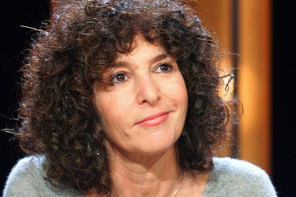 Geneviève Brisac en 2004 sur le plateau de Vol de nuit