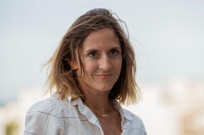 Camille Chamoux en août 2017 au Festival du film d'Angoulême