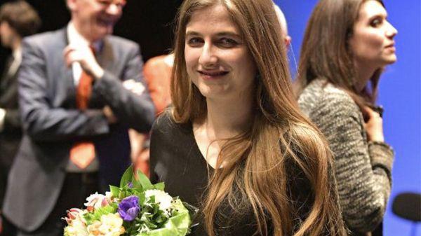 Portrait de Maroussia Gentet, lauréate du 13e Concours international de piano d'Orléans