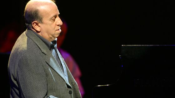Martial Solal aux Victoires du Jazz en 2003