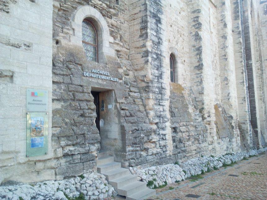 Les archives de Vaucluse sont au palais des papes d'Avignon