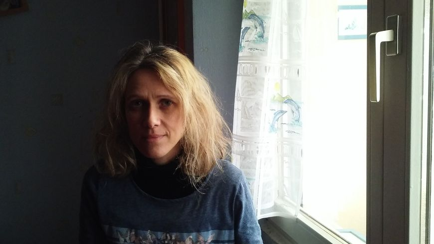 Nathalie Pétain chez elle à Fleury