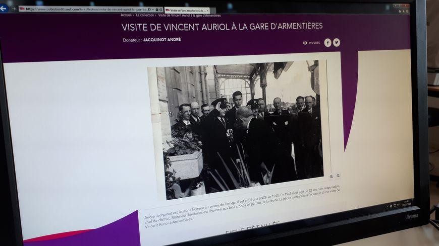 Le site de la SNCF qui recueille et restitue les archives
