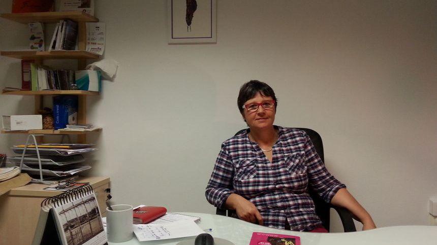 Anne Joseleau directrice de l'association dijonnaise Solidarité Femmes