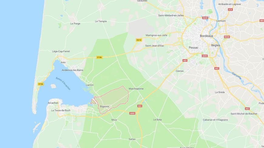 L'homme et sa famille vivaient à Biganos, entre Bordeaux et le Bassin d'Arcachon