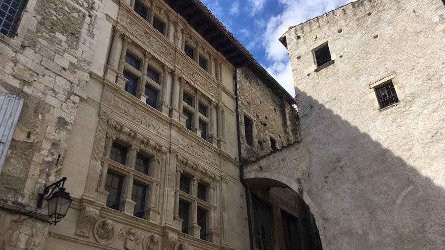 """La maison des Chevaliers à Viviers en Ardèche a été sélectionnée pour ce """"loto du patrimoine""""."""