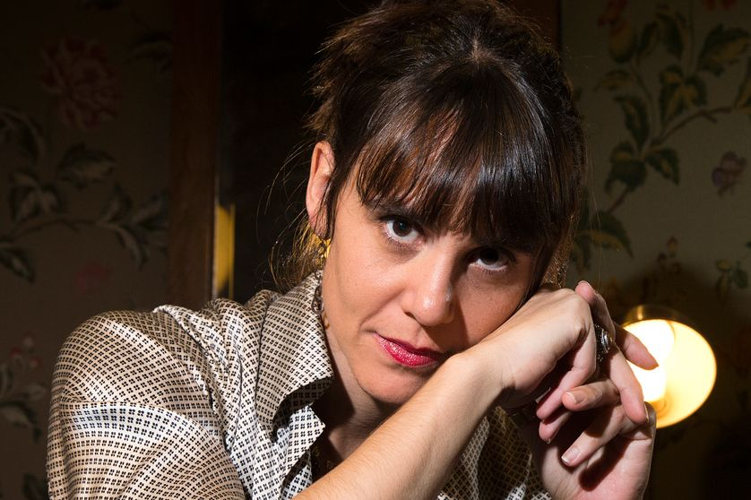 Marie Modiano en Novembre 2014, à Paris