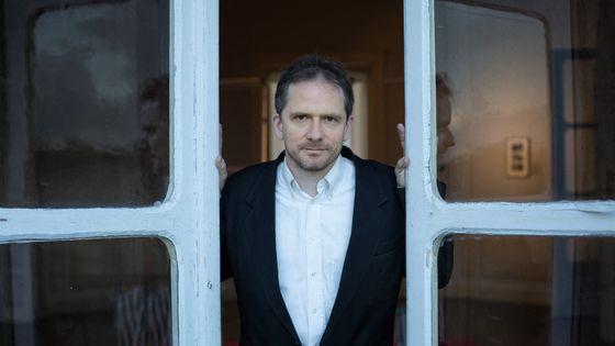 Portrait du compositeur Karol Beffa. Avril 2017.