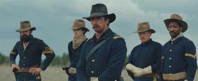 """Christian Bale est le capitaine de cavalerie Joseph Blocker dans """"Hostiles"""" de Scott Cooper"""
