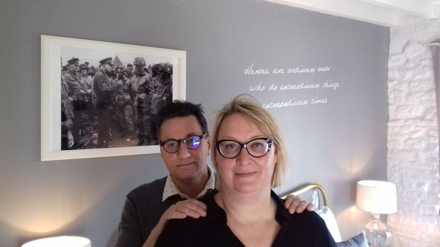 Laurent Gaudin et Patricia Kiefer