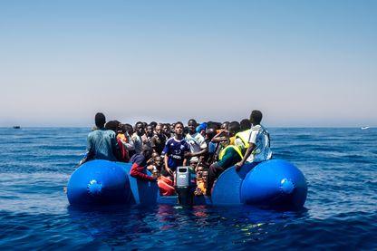 Opération de secours de l'ONG ProActiva au large de la Libye l'été dernier