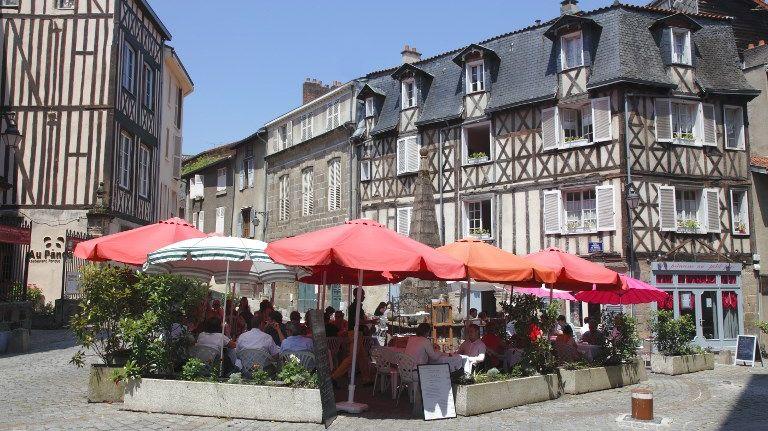Le centre-ville de Limoges