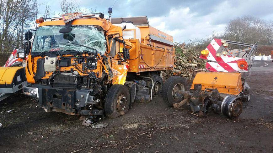 Accident le 30 janvier sur l'A2 à Saint-Amand