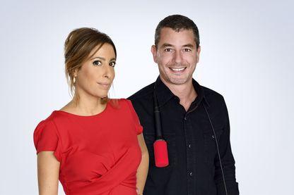 Ali Baddou et Léa Salamé