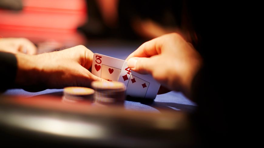 Photo illustration - table de poker