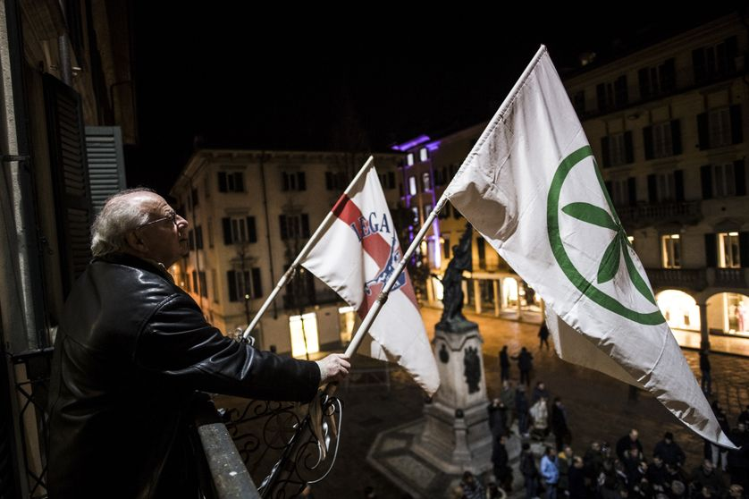 Au sein de la coalition de droite, victorieuse, la Lega domine Forza Italia.