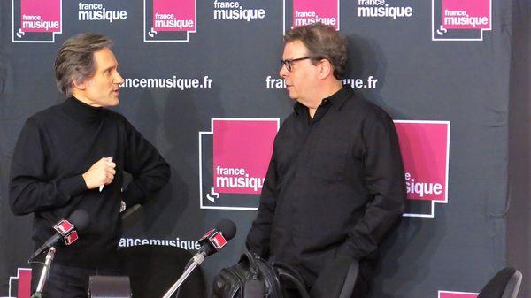 """France Musique en public du Salon Livre Paris 2018 : Avec Douglas Kennedy """"La Symphonie du hasard-Livre 2"""" Éd. Belfond"""