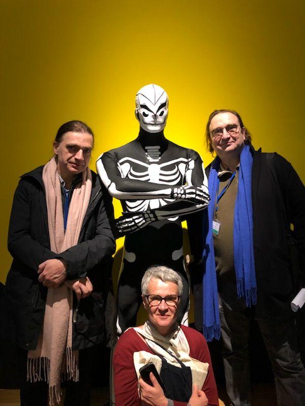 Christophe Bier, Frédérique Deschamps et François Angelier - Mucem 2018