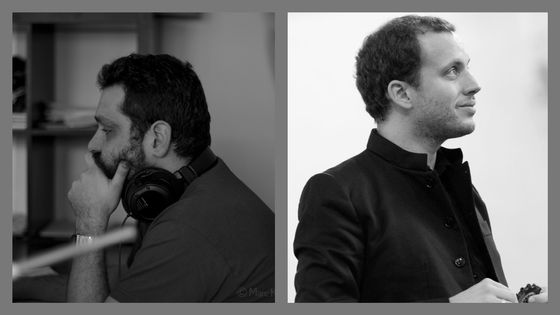 Christophe Pinto et Mathieu Romano