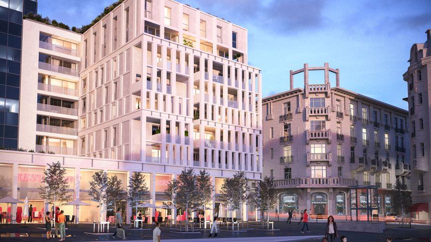 Nancy signatures contre le futur immeuble de la place thiers