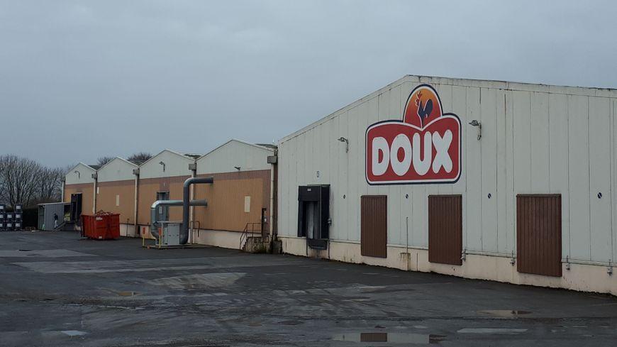 Le site du groupe Doux à Châteaulin (Finistère)