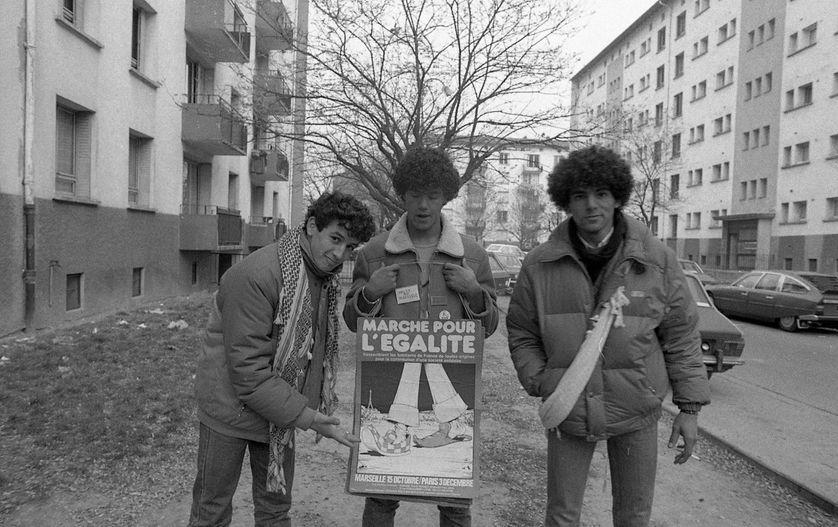 Marcheurs pour l'égalité, 1983,