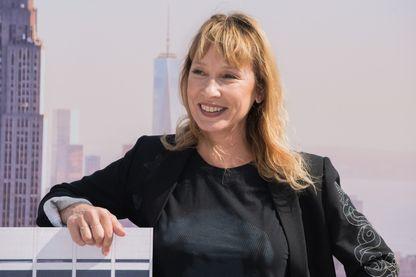 Emmanuelle Bercot en septembre 2017 à Deauville
