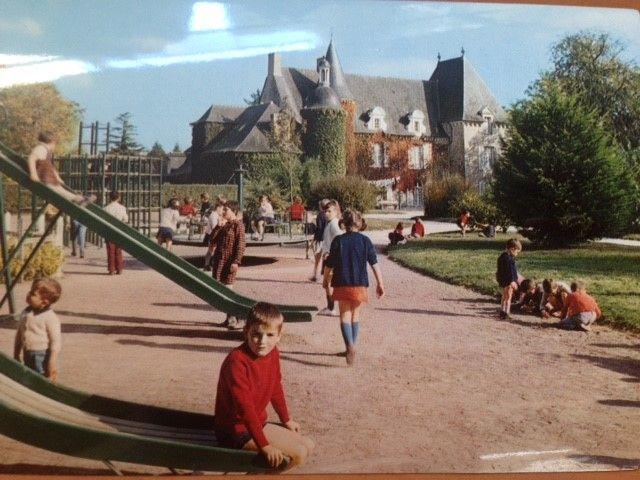 La château présent sur le centre Rey-Leroux il y a 20 ans, photo fournie par Francis Ory