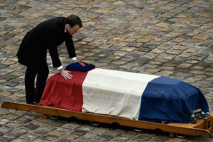 Hommage de la République au Lieutenant-Colonel Arnaud Beltrame