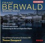 Franz Berwald par l'Orchestre symphonique du Danemark, Thomas Dausgaard