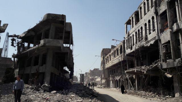 Dans la vieille ville de Mossoul