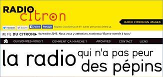 Radio Citron a été créée à Paris en 2009, sur le modèle de la Colifata, une radio de Buenos Aires.