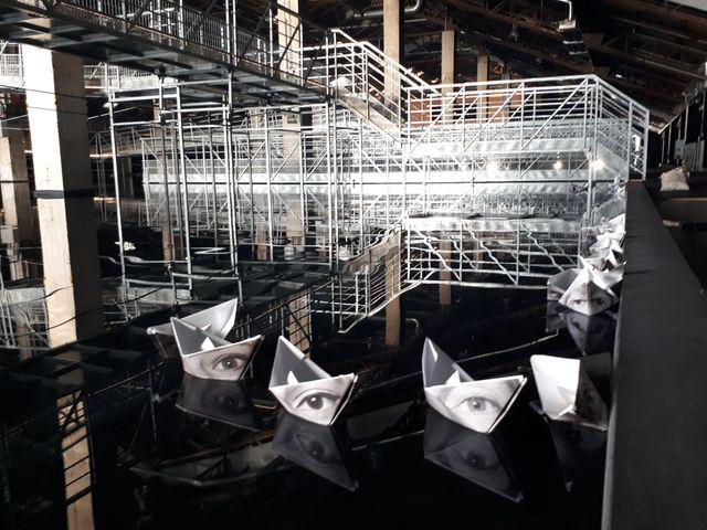 L'installation Amor Fati est à découvrir sur le quai de la Joliette, à Marseille, jusqu'au 13 mai 2018.