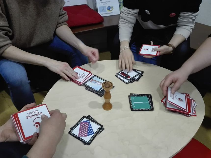 """Un jeu Jugnle speed version """"contraceptifs"""" a été créé pour l'occasion"""