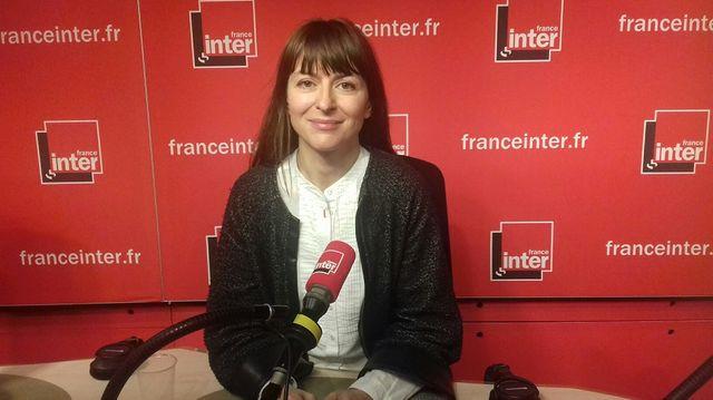 Isabelle Barré journaliste au Canard enchaîné