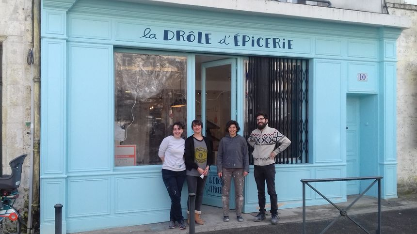 """""""La drôle d'épicerie"""",  magasin coopératif, qui ouvrira d'ici quelques jours - Radio France"""