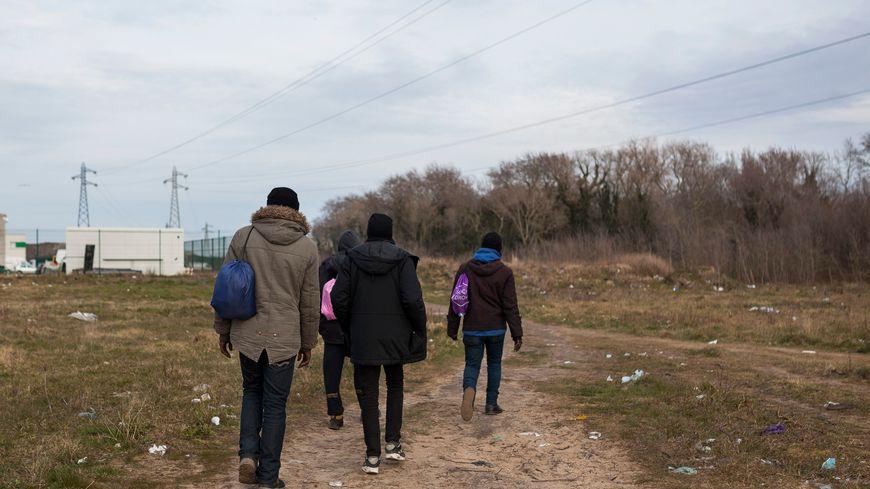 Selon les estimations, il y aurait aujourd'hui entre 300 et 600 migrants dans le Calaisis