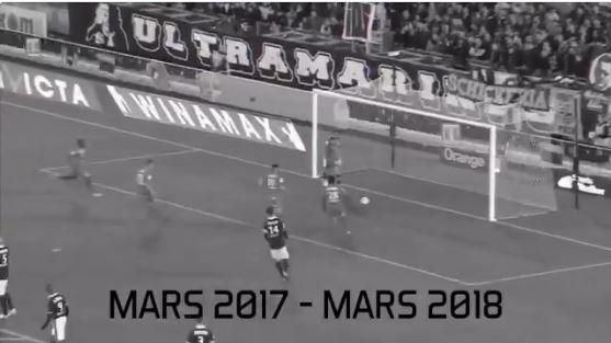 Le dernier penalty du MHSC avait été marqué le 18 mars 2017 à Bordeaux