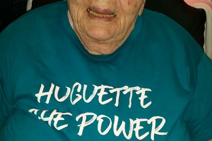 "Noëlla, 92 ans, choriste dans le groupe ""Huguette The Power"""