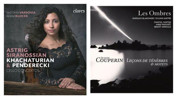 "L'ensemble ""Les Ombres"" : Sylvain Sartre, Margaux Blanchard /// Astrig Siranossian"