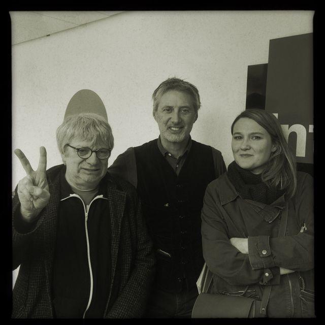 Antoine de Caunes et Charline Roux, accompagné de Ramon Pipin