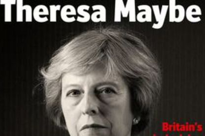 La Une du magazine britannique The Economist il y a un an