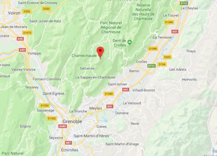 Le secteur de Chamechaude en Chartreuse (Isère)