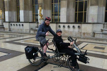 Pablo et Guillaume vont faire le tour du monde à vélo