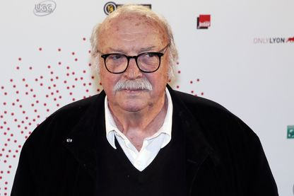 """Jean Becker dans l'exposition """"Lumiere! Le Cinema Invente"""" en 2015"""