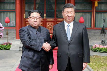 Le dirigeant nord-coréen Kim Jong-un a reçu un accueil somptueux de la part du président chinois Xi Jinping lors de son voyage secret à Beijing, le 27 mars, alors que les deux parties cherchent à réparer leurs liens avant les sommets historiques avec