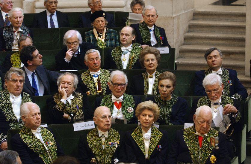 Des membres de l'Académie des Beaux-Arts et de l'Académie française