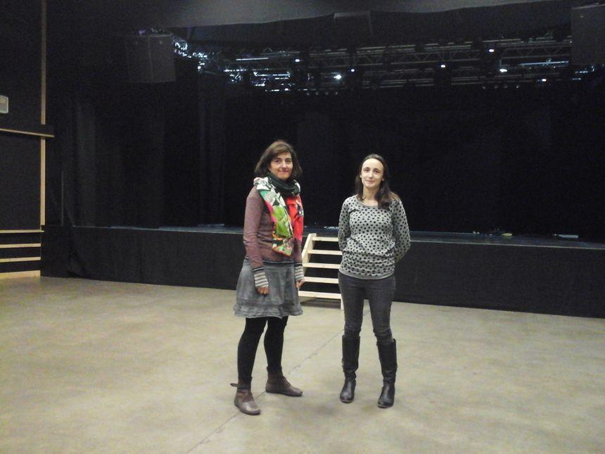 Mathilde et Sandrine dans la salle de concert d'un EchoSystem garant de la showdiversité sur les 4 Saisons... sauf celles de Vivaldi!